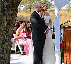 Small and intimate wedding venue in Mpumalanga at Lomas Creek Country Cottages close to Dullstroom
